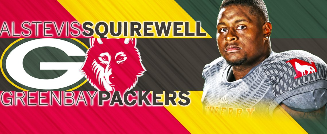 THIS JUST IN: Newberry's ALSTEVIS SQUIREWELL signs free agent deal with @packers : https://t.co/kakqj6dqaP https://t.co/VMAyy7hcgt
