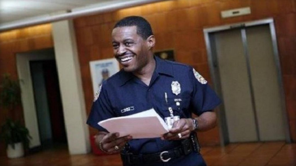 Ferguson's first black police chief set to take over