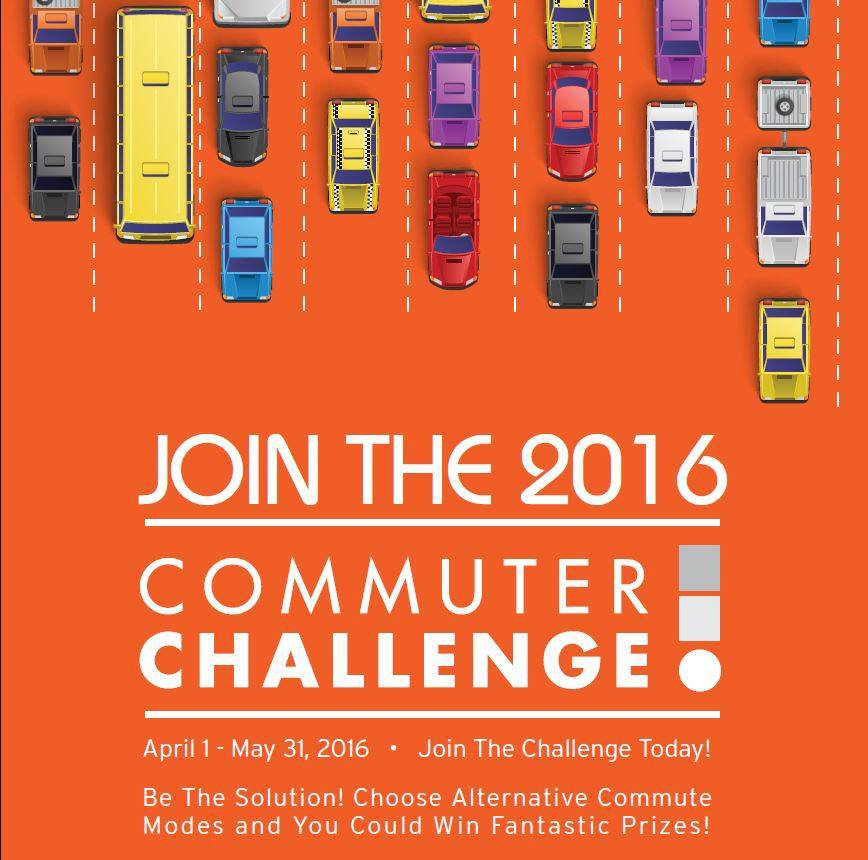 RT @CityofSSF: The 2016 Commuter Challenge is on through 5/31! How are you rethinking your commute?