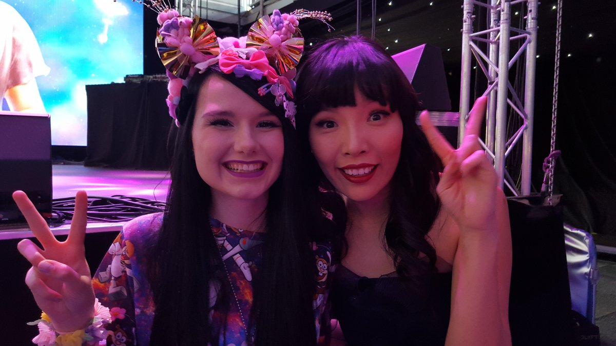 Wait, we need to take a selfie! Here's @damiandmusic with Germany's #Eurovision entry Jamie-Lee. #SBSEurovision https://t.co/WcINfcWKrb