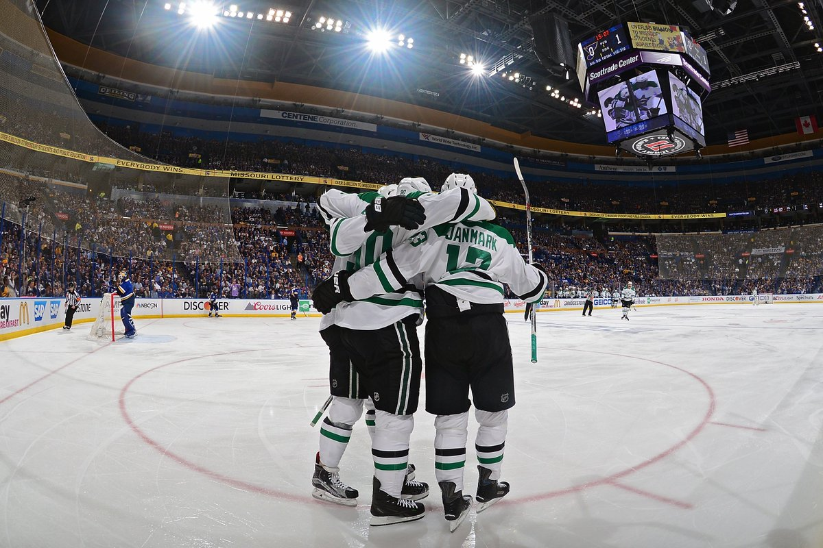 THERE'S THE HORN! STARS WIN!!!!  The Series shifts back to Dallas for Game 7 Wednesday at 7! #VictoryRising https://t.co/ZS9rtsck0n