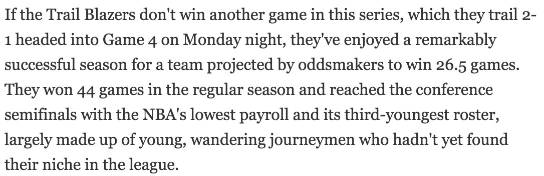 Blazer fans: Now would be a great time to read this from ESPN's @kevinarnovitz https://t.co/JNkcdp1jTj https://t.co/7RMQNTUXFX