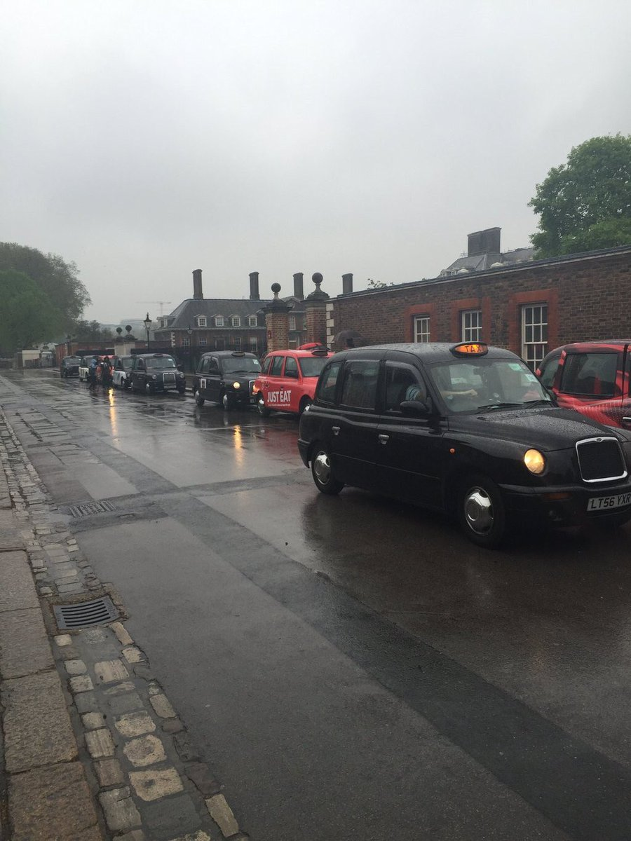 London's great Cabbies taking War Veterans to Ypres today