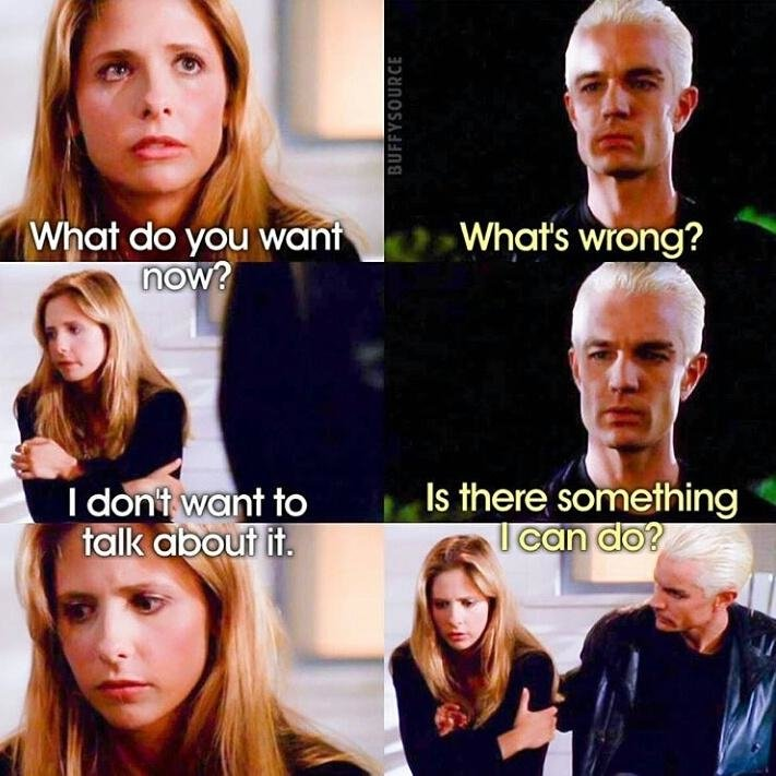 Aww just why did I remember this?! The feels! Aww :'( #Spuffy https://t.co/kVOMsS8mVB