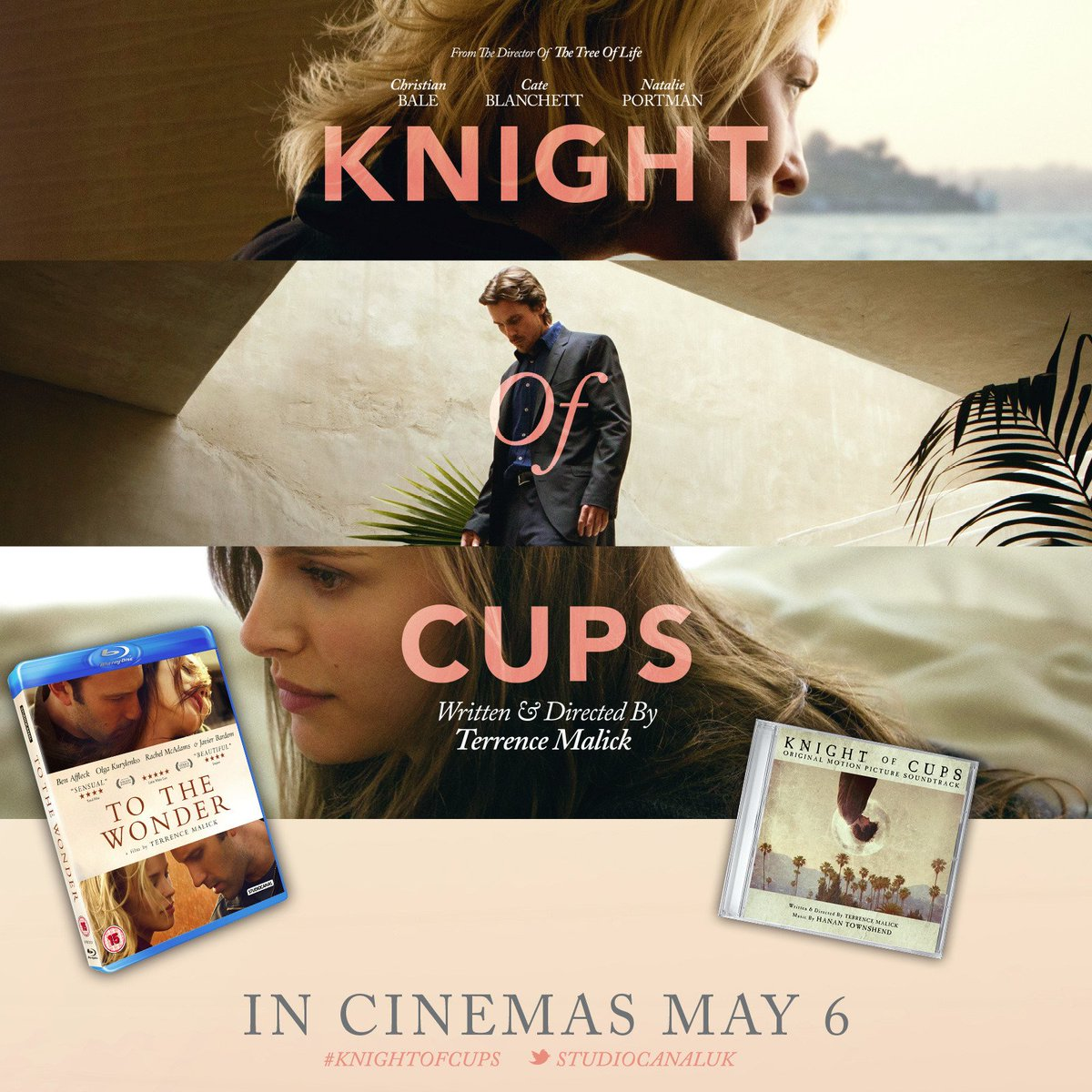 COMPETITION! RT for chance to win @knightofcupsmov poster, soundtrack & a #BluRay of #TerrenceMalick's To the Wonder https://t.co/TC28rkrbYH