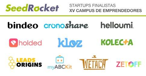 Ya tenemos finalistas para el XV Campus de Emprendedores! Conócelos aquí: https://t.co/1oB7Yh0Oyn #xvcampuseedrocket https://t.co/EdE8OO6QvA
