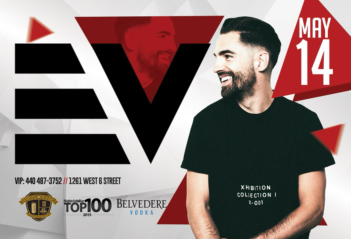 This Saturday E-V @DjEV is back for his monthly residency at @BarleyHouseCLE https://t.co/aLGVPeb5fK
