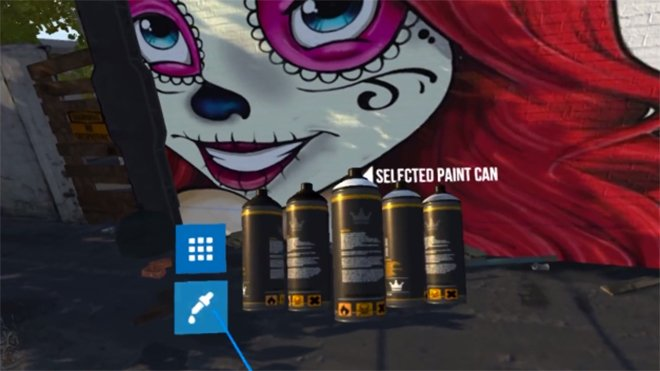 """The Kingspray <a href=""""http://twitter.com/search?q=VR"""" target=""""_blank"""" rel=""""nofollow"""">#VR</a> Graffiti Simulator is something else. Take a look at the video here -  <a href=""""https://t.co/G1gfZAxug0"""" target=""""_blank"""" rel=""""nofollow"""">https://t.co/G1gfZAxug0</a>"""