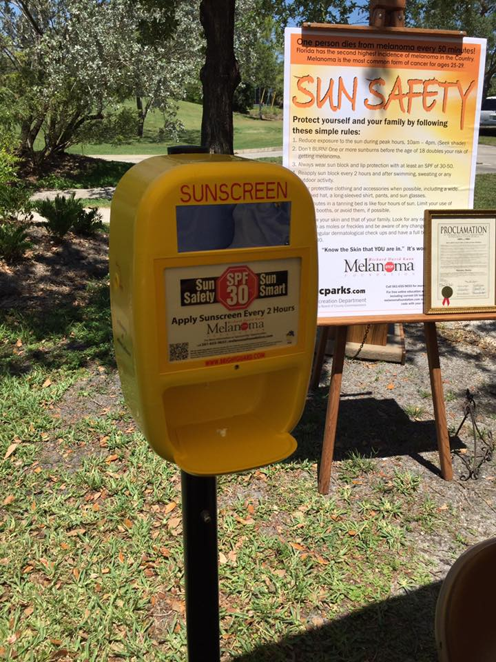 Have you seen the new public #sunscreen dispenser yet? Visit @PBCOkeeheelee  and try it out FREE of charge! https://t.co/uCKDXS3lhW