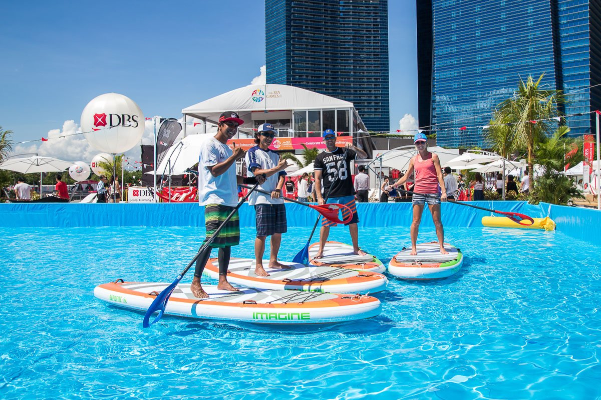 You've never been to an urban beach quite like this.