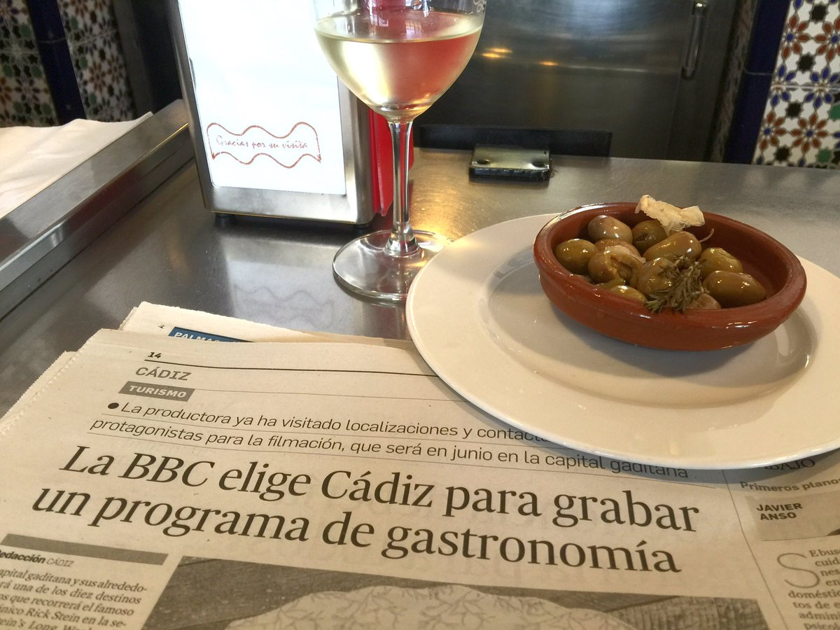 Brilliant! @Rick_Stein is coming to #Cádiz to film for his Long Weekend series https://t.co/87fIn7QPxG
