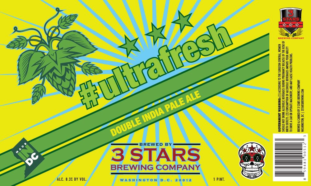 Join us Friday for a can release party for our new DIPA, #ultrafresh! It's big, dank & juicy, get some! #madeindc https://t.co/oo1cya6ks2