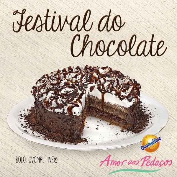 Chocólatras de plantão: tem Festival do Chocolate na Amor aos Pedaços até dia 10/6. Vem se esbaldar nessas delícias! https://t.co/LxQc9ndII9