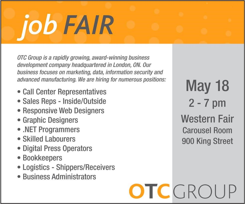 #ldnont Amazing job opportunities job fair May 18th. awesome place to work. 2015 Biz of the Year with global growth https://t.co/eNQjqwlAW9