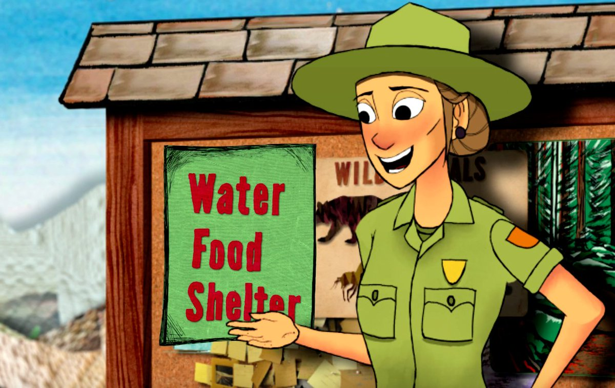 RT @hitRECord: Food, shelter, and water — the key to survival... https://t.co/VKtwhm7WX3 @GoParks #FindYourPark https://t.co/OsnlLsyVOc