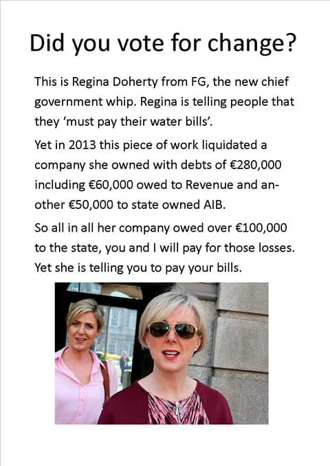 I don't know about you, but I am thoroughly sick of these people! #IrishWater #FG https://t.co/1O0pmpbflY