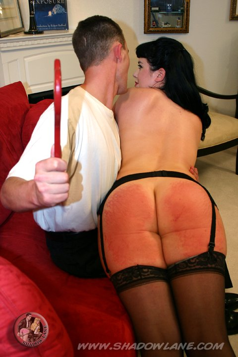 RT : #spanking #shadowlane Betty probably felt this one every time she sat down for a
