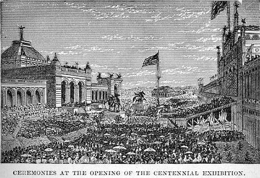 Today in #Philahistory, 5/10:  The first World's Fair in the United States was held in Philadelphia in 1876! https://t.co/arPETDO2KO