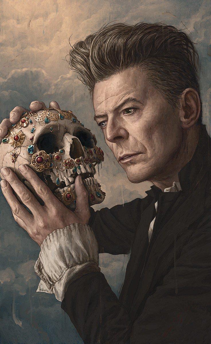 Illustration Winner: Rory Kurtz's portrait of David Bowie for @RollingStone. https://t.co/abMsE1T7CU https://t.co/nlq9HgiYtB