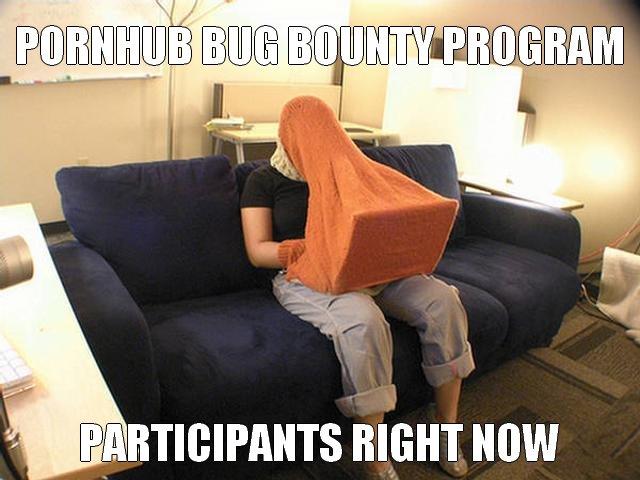 RT @evanricafort: Pornhub public bug bounty program. @Hacker0x01 @Pornhub   #infosec #security #vulnerability #hacking #bugbounty https://t…
