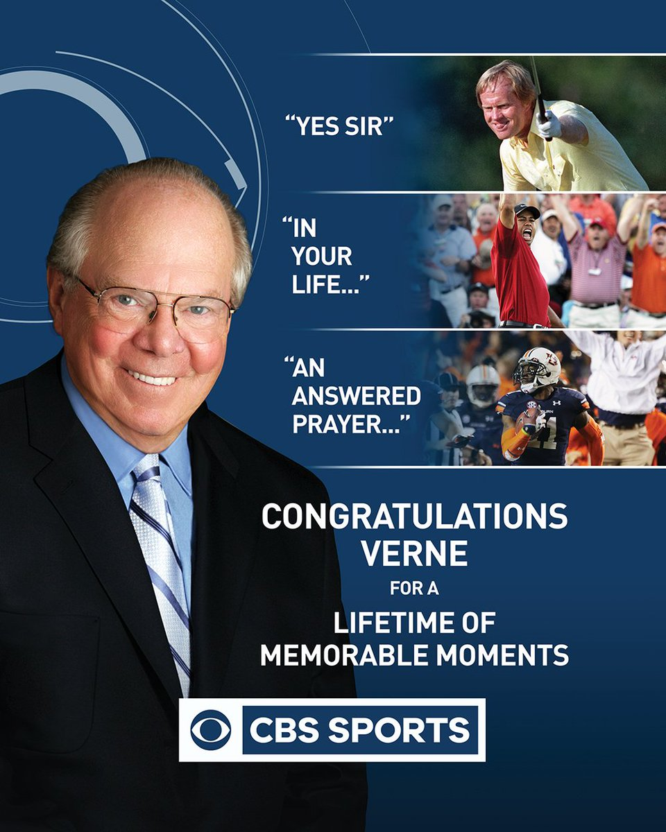 Congratulations Verne on receiving the Sports Emmy Lifetime Achievement Award! https://t.co/UVoOlGoIXf