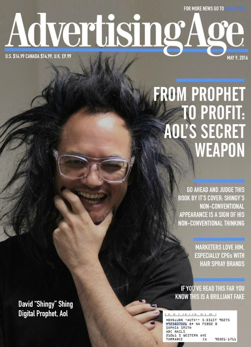Such a positive force/one of the best humans - @shingy @AOL_Inc a very big highlight to see him on the cover @adage https://t.co/39g1Ih01Xo