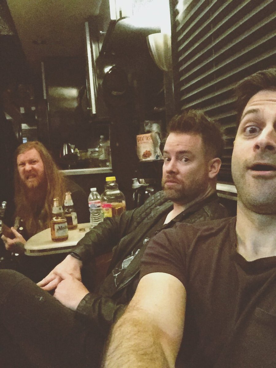 Look who's on a tour bus again together https://t.co/VEvs3tf4OU