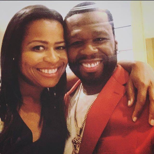 Me & Courtney kemp,this the combination that made the best show on TV (POWER). It's only goin to get bigger season 3 https://t.co/jbWLx7tw5T