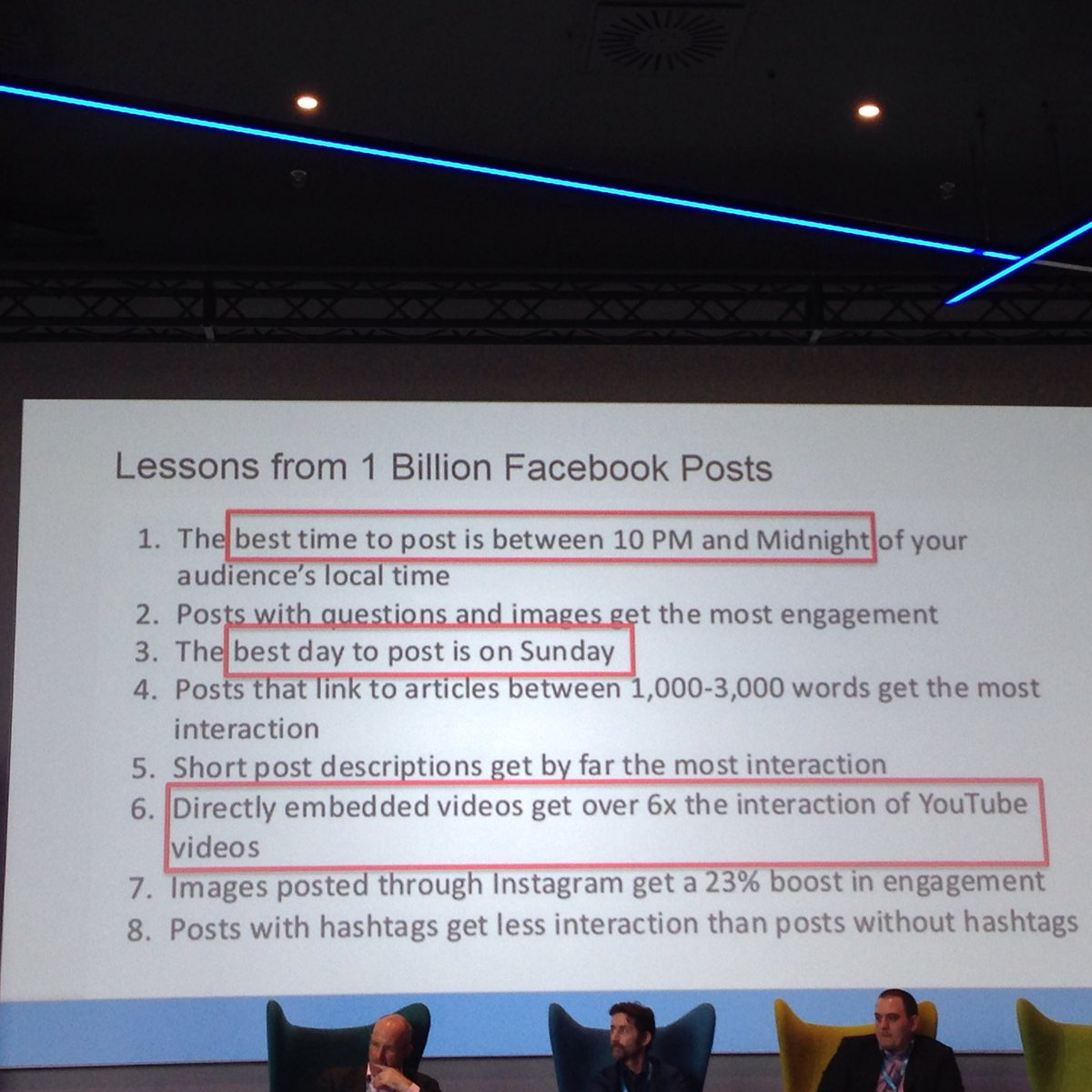 8 brilliant takeaways from 1bn Facebook posts, some will surprise you. #3XEDigital @steverayson @BuzzSumo #Lists