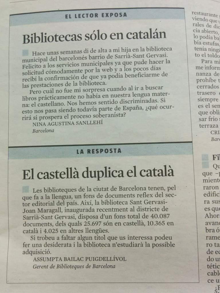 Allò típic que t'interessa dir que el castellà està perseguit a Catalunya... fins que t'explota a la cara. https://t.co/L8QSlR3XKa