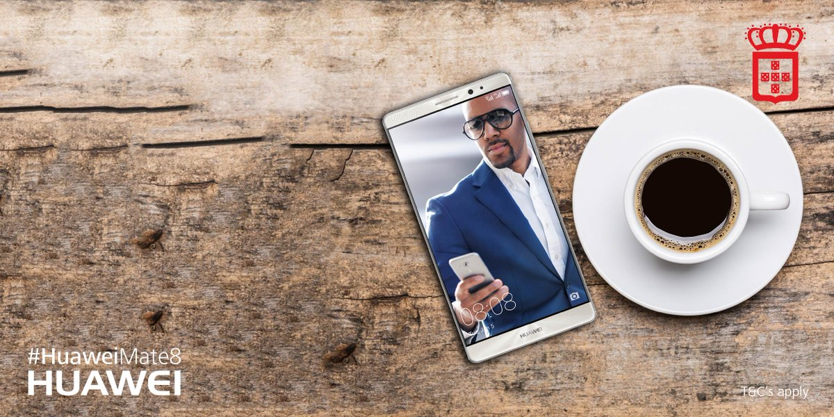 Need a new phone? We are giving away a @HuaweiZA Mate 8! Tweet us why you deserve a new phone! #vidaecaffe https://t.co/2k79YRtzwb