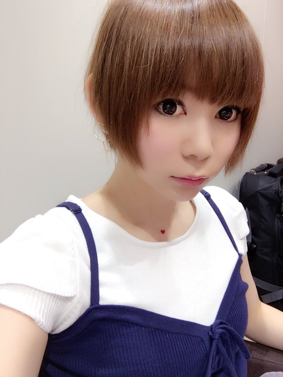 茶髪ショートの中川翔子