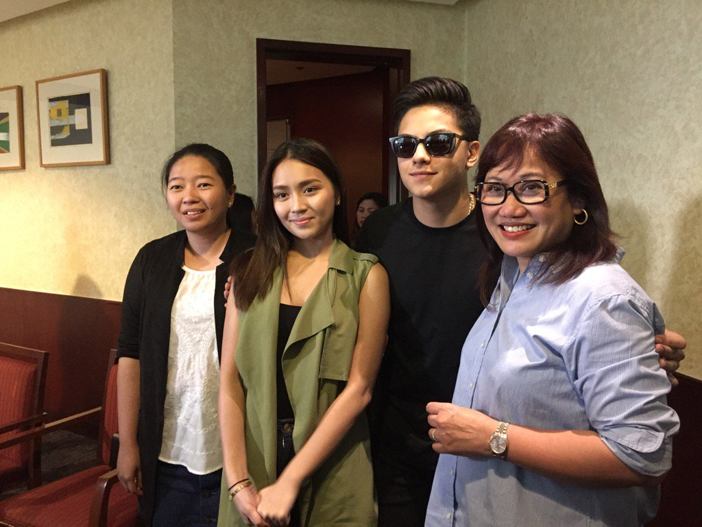 Kathniel's storycon for their new movie. https://t.co/YV9yrZkUOc