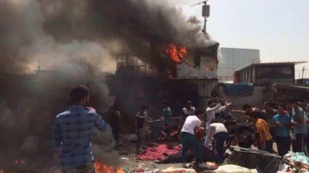 Atentado en Bagdad: más de 50 muertos