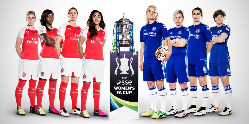 SSE Women's @FA Cup final between @ArsenalLadies & @ChelseaLFC set for record crowd: https://t.co/QAaOjQuONq https://t.co/wXwnKla6fw