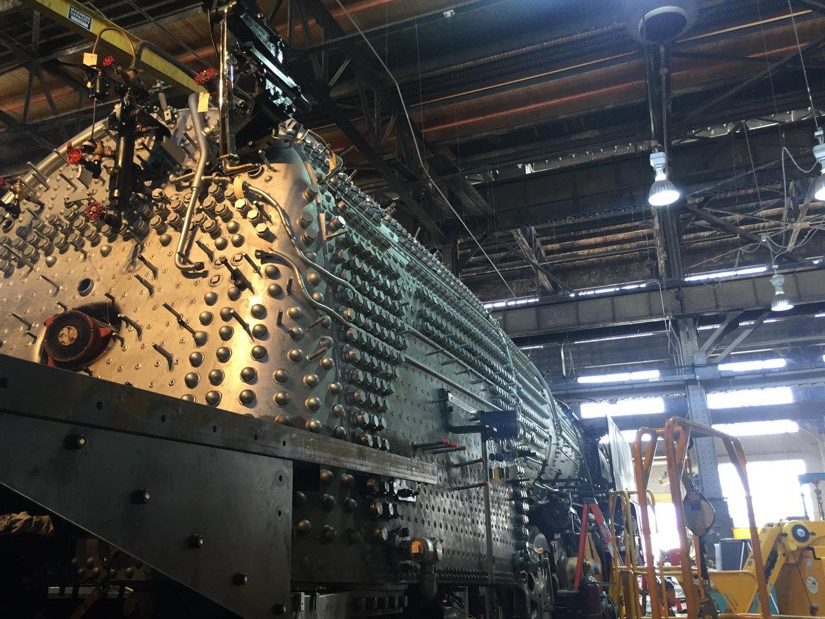 We have a date for steam locomotive No. 844's return to service! https://t.co/vNfaj3eqMn https://t.co/o3k5uGfyVJ