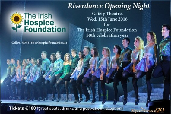 Exciting NEWS! We're @Riverdance Charity Partner for Opening Night, June 15, Gaiety Theatre.https://t.co/wYlUibU88i https://t.co/2Y5oShEW7k