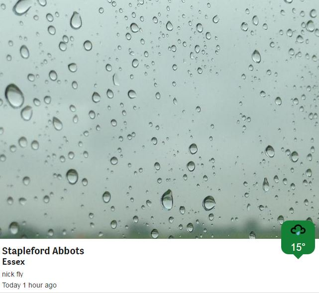 Rainy McRain Face ....... over 20mm since midnight in some parts of London! https://t.co/NGDuvQwgz9