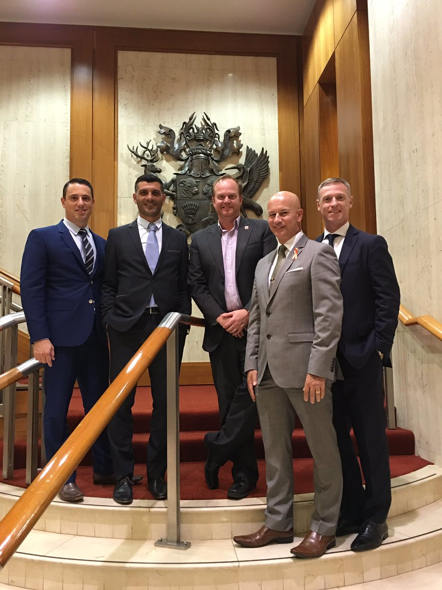 RT @CraigMoore_18: Great dinner tonight in parliament. Big thanks to Steve Minnikin MP, David Pourre, John Aloisi and @RobCavallucci https:…