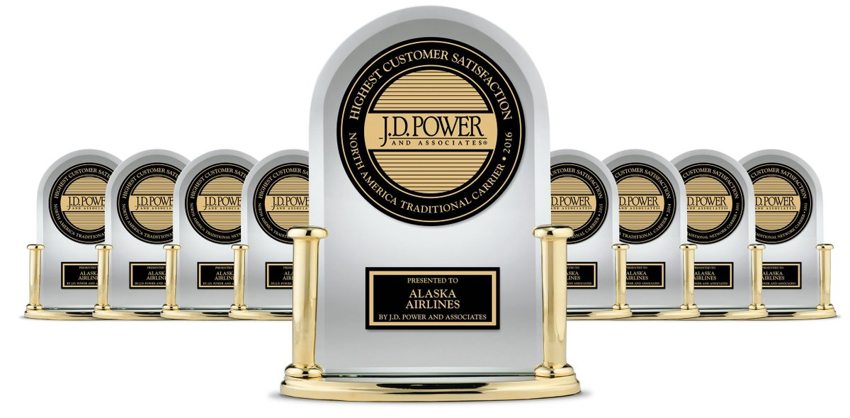 """Highest in Customer Satisfaction Among Traditional Carriers in North America"" - @JDPower"