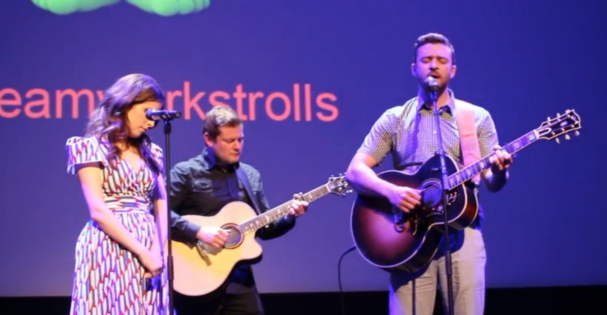 Watch Justin Timberlake and @AnnaKendrick47 perform Cyndi Lauper cover in