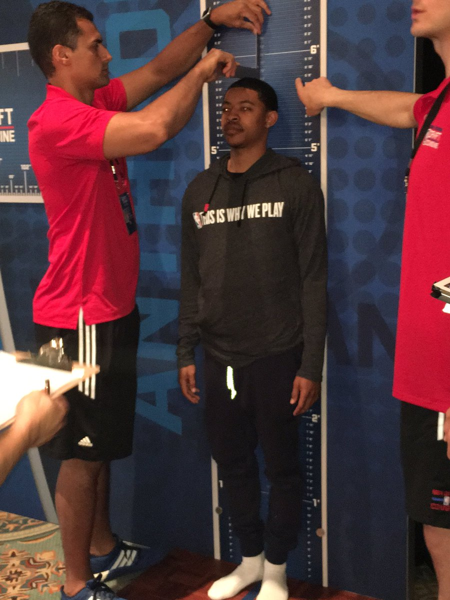 How did the NBA combine measurements compare to the UK ...
