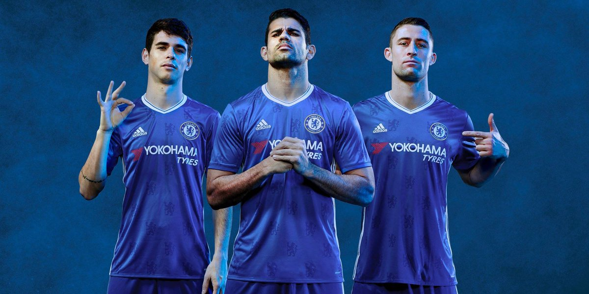 Blue is the colour. Get the new 2016/17 @ChelseaFC Home Jersey, instore & online now https://t.co/rK5qTBbjVE https://t.co/mCHU61zTcx