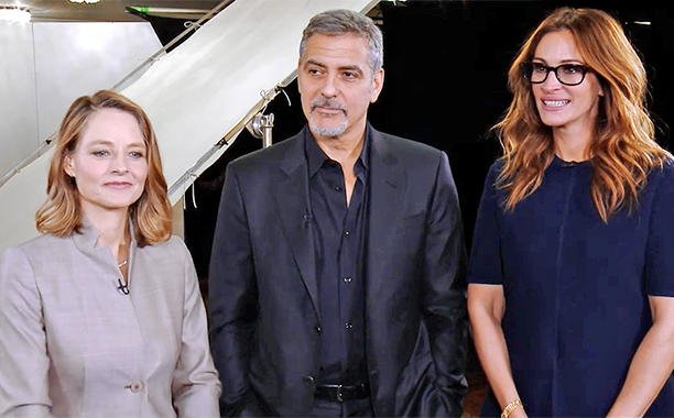 George Clooney, Julia Roberts and Jodie Foster reveal when they feel sexiest:
