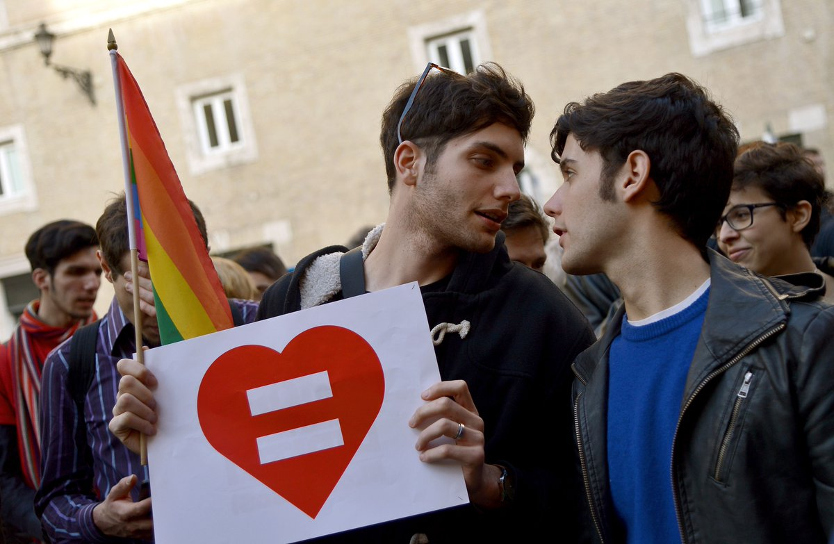 Italy finally legalizes same-sex civil unions