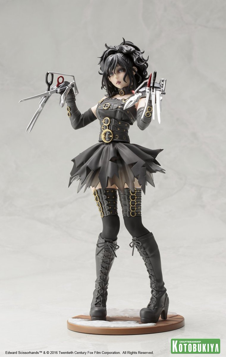 "In her eyes she may not be ""complete"" but Edward Scissorhands looks great as a Bishoujo! https://t.co/QLGfPWXmvO https://t.co/HOMUBEGBgS"