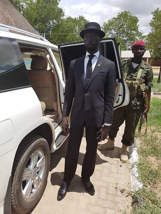 The new Minister of Water Resources and Irrigation in the Republic of South Sudan, Hon Mabior Garanga De Mobior https://t.co/KO5xkK1vmq