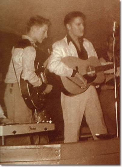 Elvis Presley 1956 Playing At Mint Club In Gladewater Tx