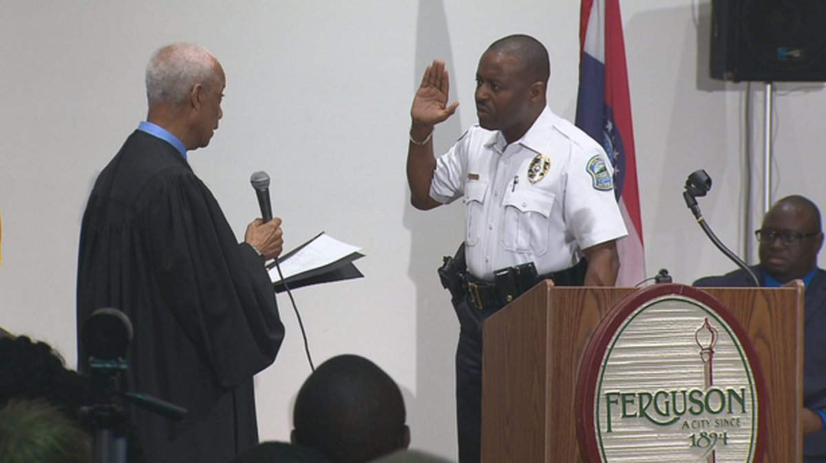 Here's what the new Ferguson police chief plans to do in his early days on the job: