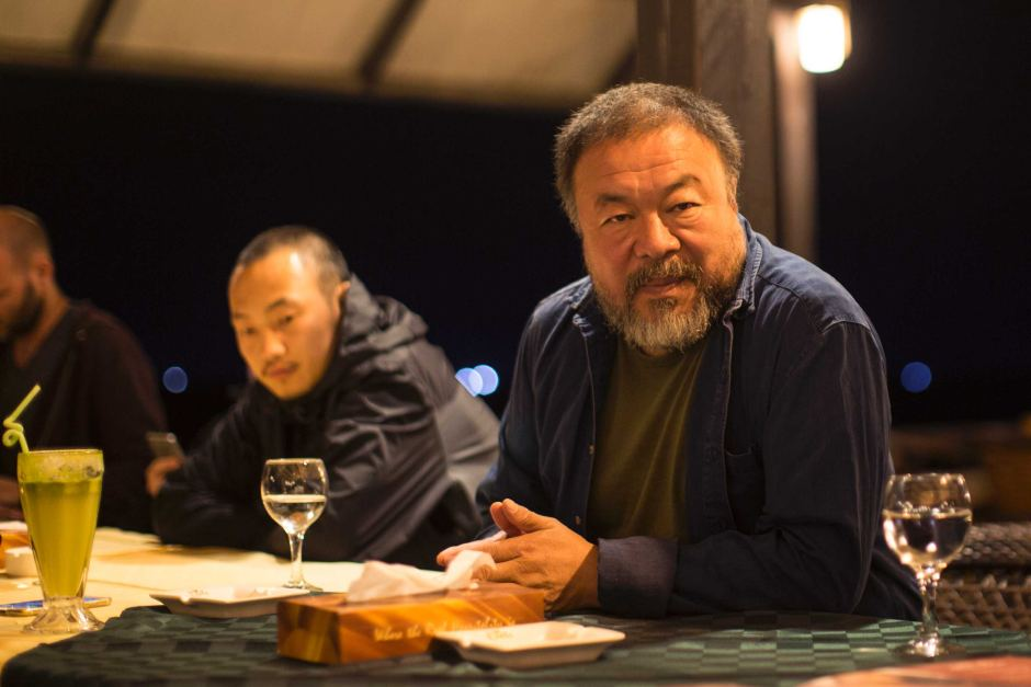 Chinese artist @aiww in Gaza to film documentary on asylum seeker crisis: https://t.co/GJuRzVSbGq https://t.co/FVu9YqszM2
